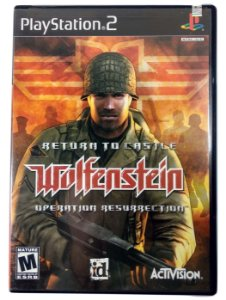 Wolfenstein Return to Castle Original - PS2