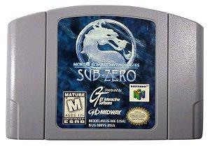 Mortal Kombat Mythologies SUB-ZERO Original - N64