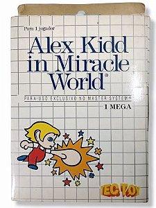 Jogo Alex Kidd in Miracle World - Master System