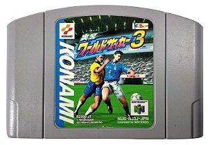 Jikkyou World Soccer 3 Original [Japonês] - N64
