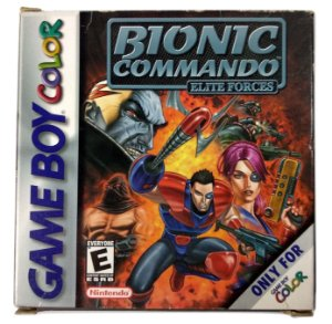 Bionic Commando Original - GBC