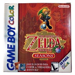 Zelda Oracle of Seasons Original - GBC