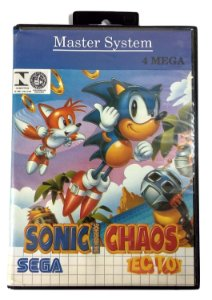 Sonic Chaos - Master System