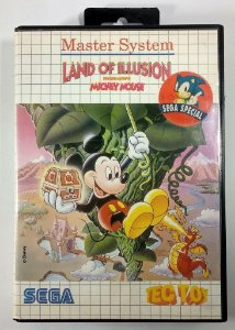 Mickey Mouse Land of Illusion - Master System