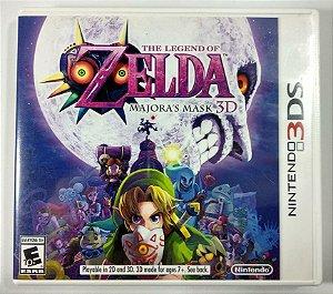 Zelda Majoras Mask 3D Original - 3DS