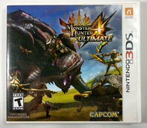 Monster Hunter 4 Ultimate Original - 3DS