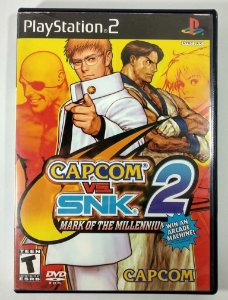 Capcom vs SNK 2 Original - PS2