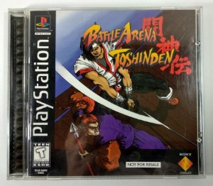 Battle Arena Toshinden Original  - PS1 ONE