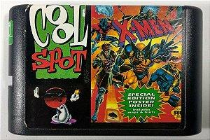 2 in 1 (Cool Spot - X-Men) - Mega Drive