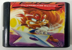 Zero the Kamikaze Squirrel - Mega Drive