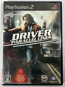 Driver Parallel Lines Original [JAPONÊS] - PS2