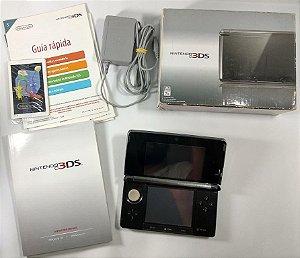 Nintendo 3DS Cosmo Black - 3DS