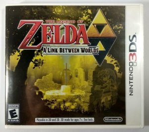 Zelda a Link between Worlds Original - 3DS