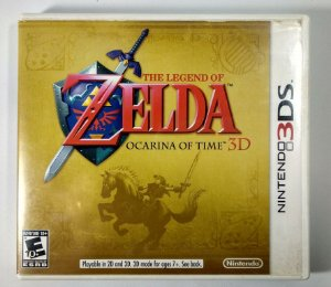 Zelda Ocarina of Time 3D Original - 3DS