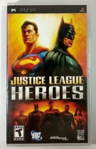 Justice League Heroes Original - PSP