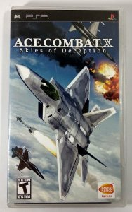 Ace Combat X Skies Of Deception Original - PSP