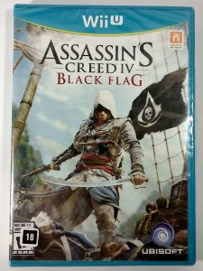 Assassins Creed IV Black Flag Original (Lacrado)  - Wii U