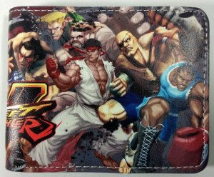 Carteira Personalizada Street Fighter V