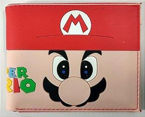 Carteira Personalizada Super Mario e Luigi