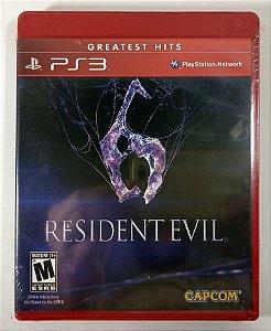 Resident Evil 6 (Lacrado) - PS3