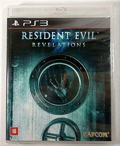 Resident Evil Revelations (Lacrado) - PS3