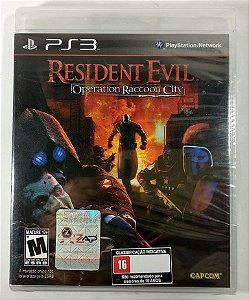 Resident Evil Operation Raccoon City (Lacrado) - PS3