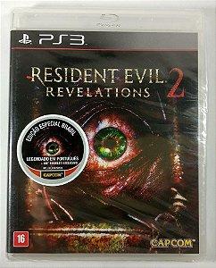 Resident Evil Revelations 2 (Lacrado) - PS3