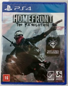 Jogo Homefront the Revolution (lacrado) - PS4