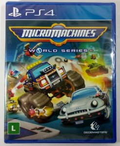 Micro Machines World Series (lacrado) - PS4