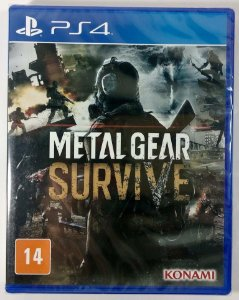 Metal Gear Survive (lacrado) - PS4