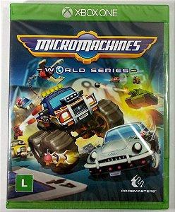 Jogo Micro Machines World Series (Lacrado) - Xbox One