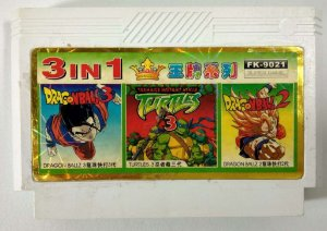 3 in 1 (Turtles 3 - Dragon Ball Z2 e Z3) - NES