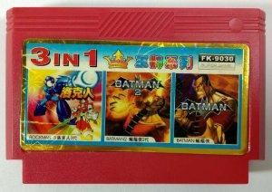 3 in 1 (Batman - Batman 2 - Rockman 3) - NES