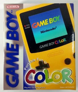 Caixa Game Boy Color Amarela [Replica] - GBC