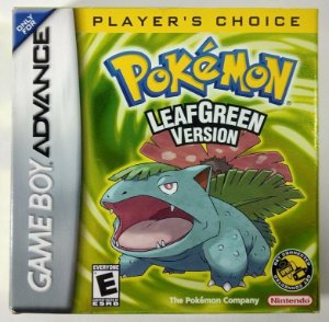 Pokemon Leafgreen version ORIGINAL - GBA