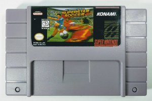 Jogo International Superstar Soccer - SNES