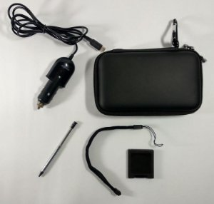 Kit Case + Carregador veicular + Caneta - 3DS