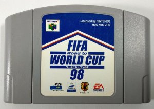 Fifa World Cup 98 Original [Japonês] - N64