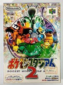 Pokemon Stadium 2 Original [Japonês] - N64