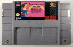 Snow White in Happily Ever After Original - SNES