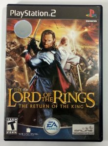 The Lord of the Rings return of the king Original - PS2