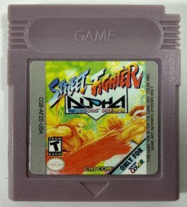 Street Fighter Alpha - GBC