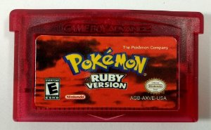 Jogo Pokemon Ruby Version - GBA