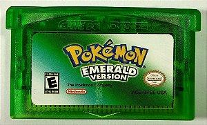 Jogo Pokemon Emerald Version - GBA
