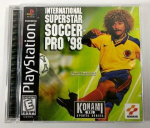 International Superstar Soccer PRO 98 [REPLICA] - PS1 ONE