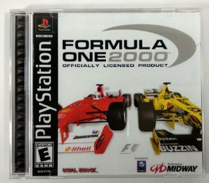Formula one 2000 [REPLICA] - PS1 ONE