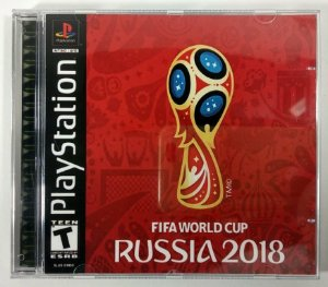Fifa World Cup Russia 2018 [REPLICA] - PS1 ONE