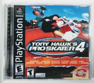 Tony Hawks Pro Skater 4 [REPLICA] - PS1 ONE