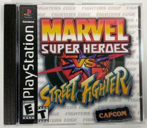 Marvel vs Street Fighter [REPLICA] - PS1 ONE