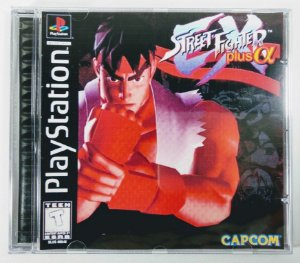 Street Fighter EX Plus Alpha [REPLICA] - PS1 ONE